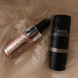 Cover Fx and Nudestix Highlighters